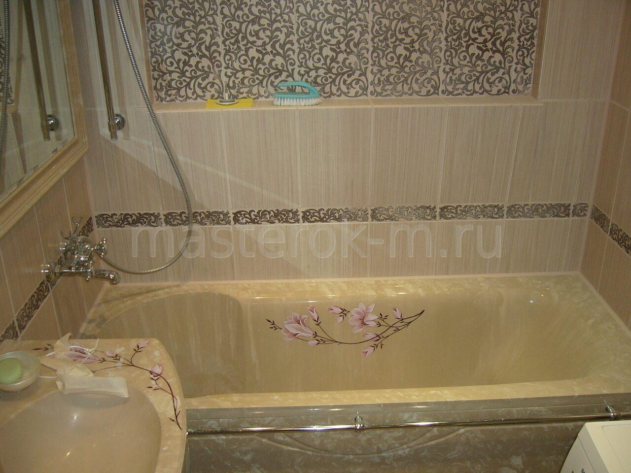 Как закрыть ванну снизу своими руками - Только ремонт своими руками 89
